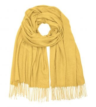The Rainbow Wrap in gold | OSPREY LONDON