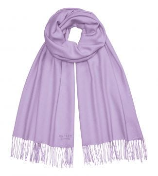 The Rainbow Wrap in lavender | OSPREY LONDON