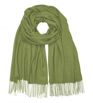 The Rainbow Wrap in lime | OSPREY LONDON