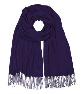 The Rainbow Wrap in purple | OSPREY LONDON