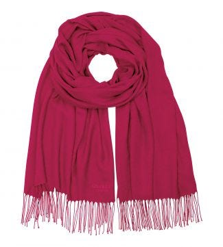 The Rainbow Wrap in raspberry | OSPREY LONDON