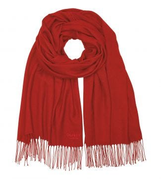 The Rainbow Wrap in red pepper | OSPREY LONDON