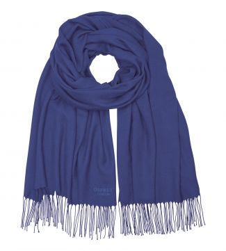 The Rainbow Wrap in royal blue | OSPREY LONDON