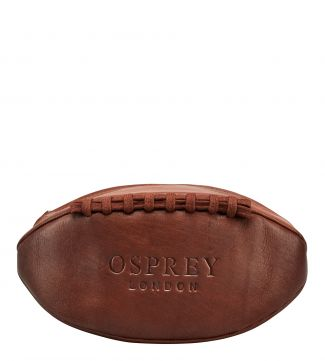 The Original Rugger Leather Washbag in havana | OSPREY LONDON
