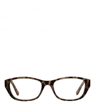 Lee Reading Glasses in matte pink tortoiseshell | OSPREY LONDON