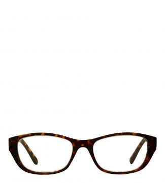 Lee Reading Glasses in shiny dark tortoiseshell | OSPREY LONDON