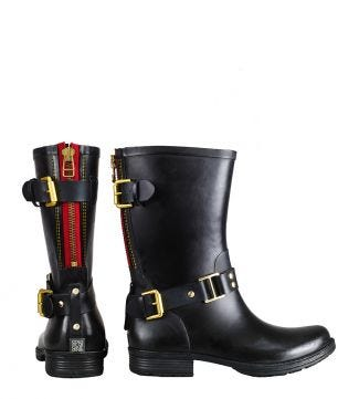 OSPREY LONDON Rain Boots.