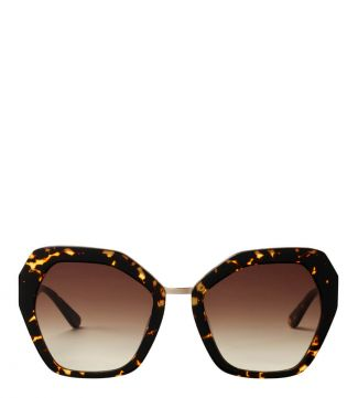 Rainforest Sunglasses in chocolate | OSPREY LONDON