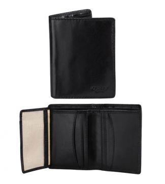 The Hawksmoor Leather Cardholder in black | OSPREY LONDON