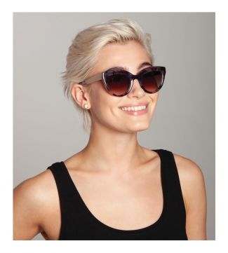 Weekend Sunglasses in aqua tortoiseshell | OSPREY LONDON