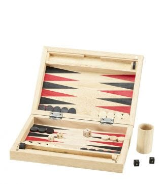 Luxury Wooden Backgammon | OSPREY LONDON