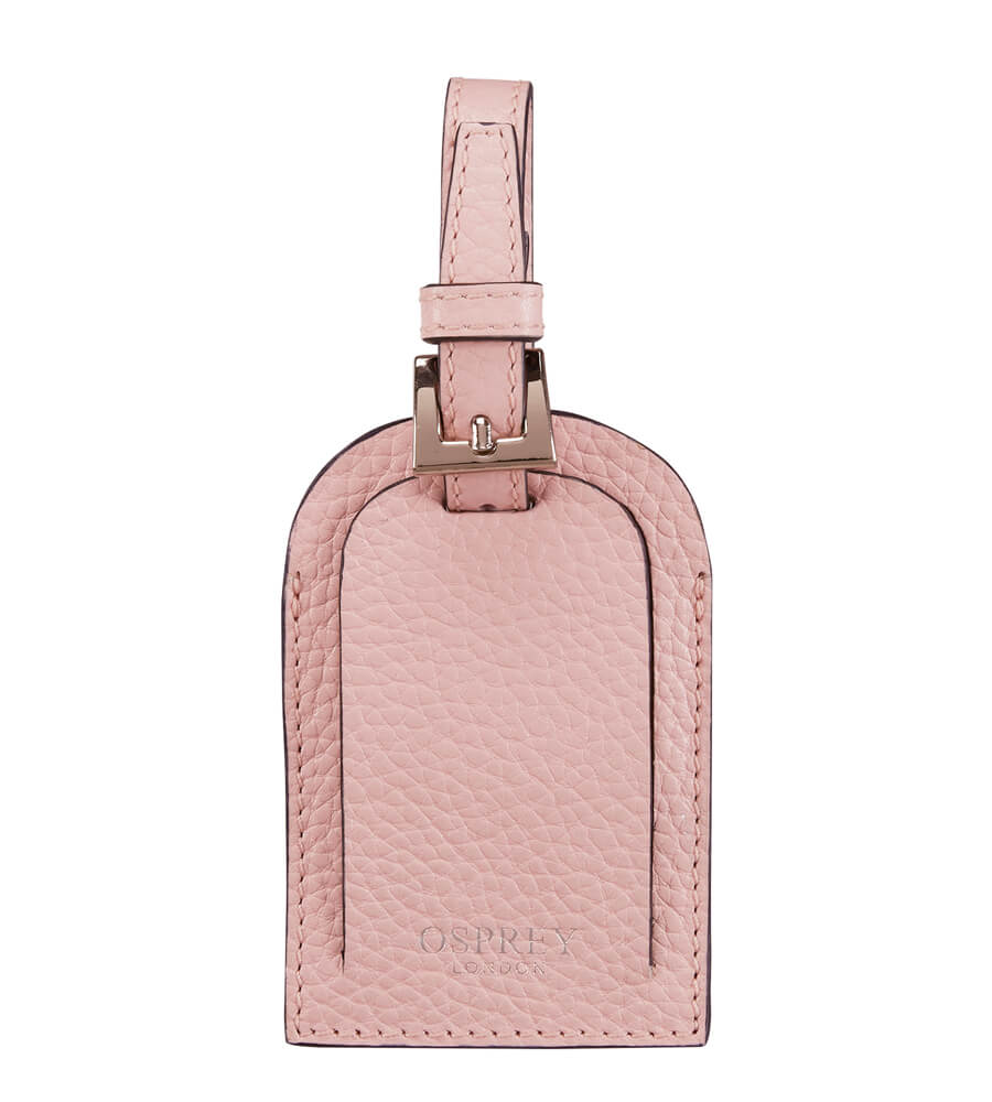 An image of The Daria Leather Luggage Tag