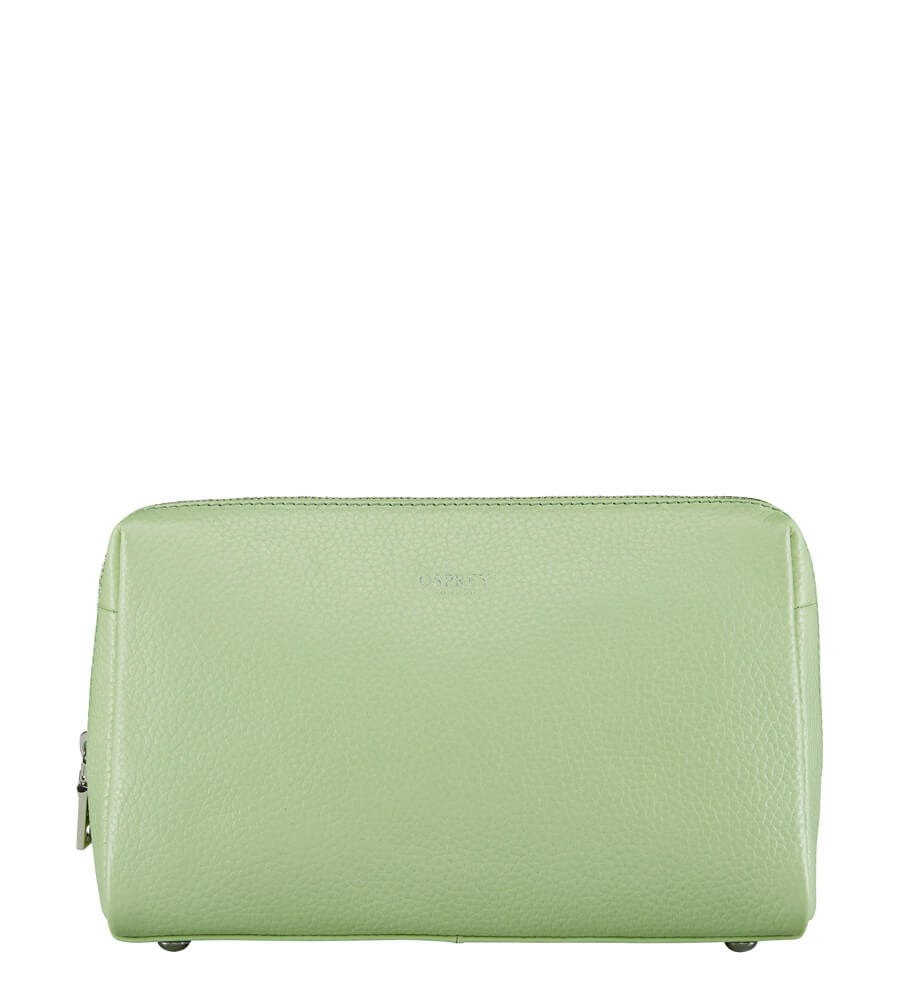 An image of The Daria Leather Washbag