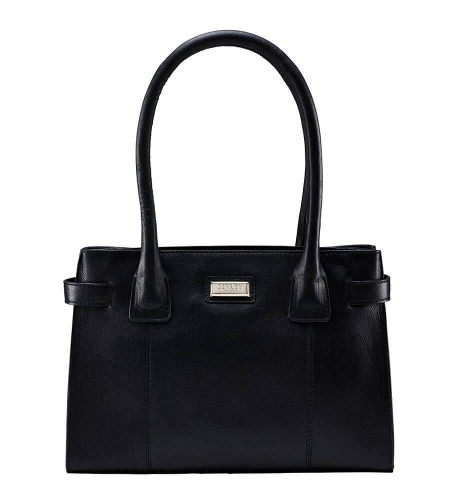 An image of The Small Josie Leather Shoulder Bag