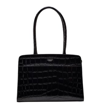 The Emily Leather Grab in black | OSPREY LONDON