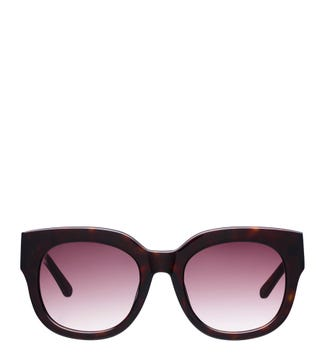 Island Sunglasses in chocolate | OSPREY LONDON