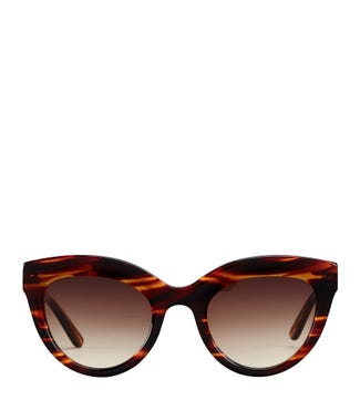 Weekend Sunglasses in flame tortoiseshell | OSPREY LONDON