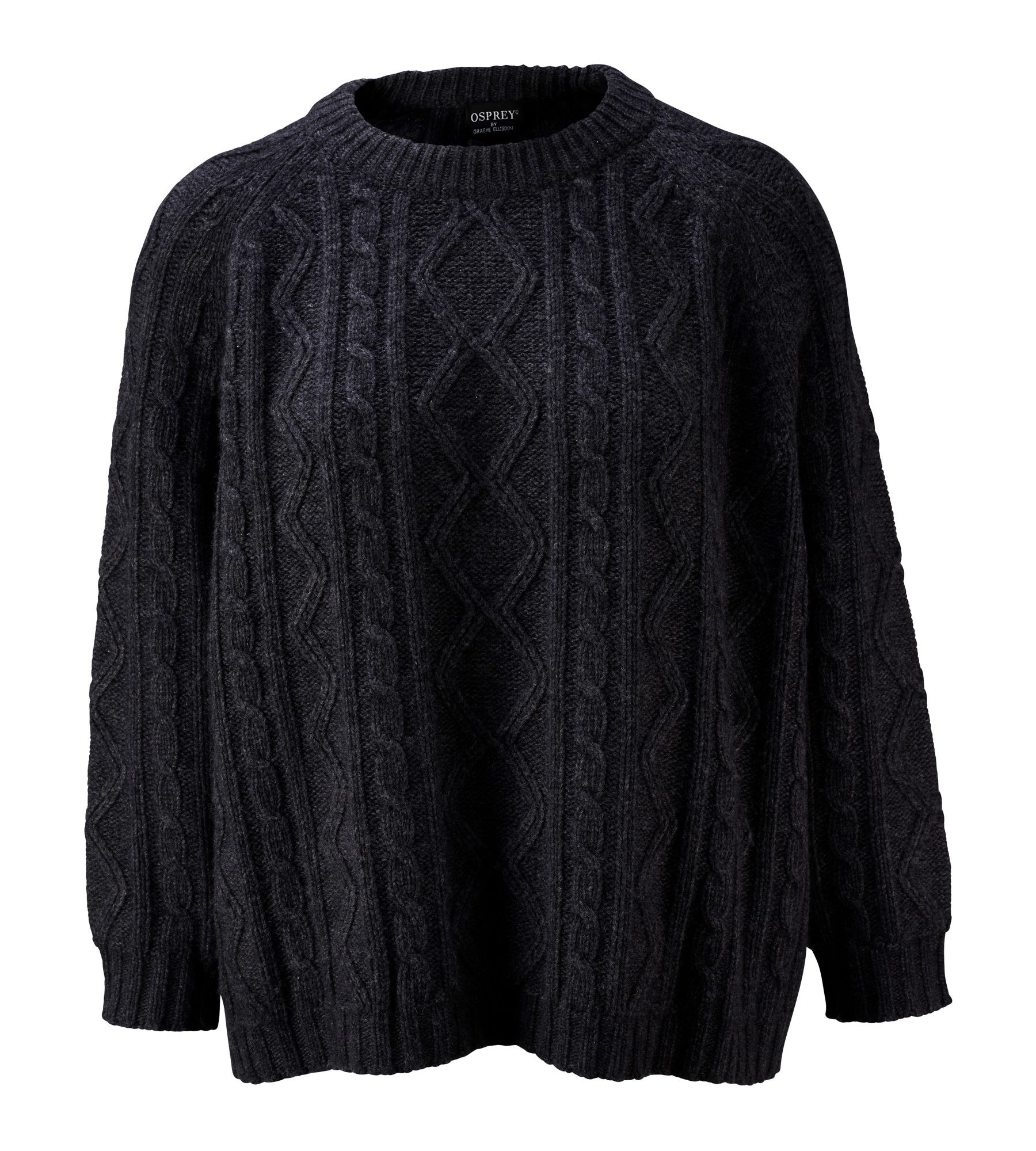 An image of The Cableknit Wool & Cashmere Jumper