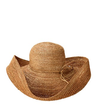 The St Tropez Sunhat in nut brown | OSPREY LONDON