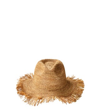 The Bali Sunhat in nut brown | OSPREY LONDON
