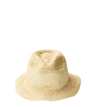 The Havana Trilby Sunhat in sand | OSPREY LONDON