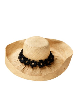 The Monte Carlo Hat in sand & black | OSPREY LONDON