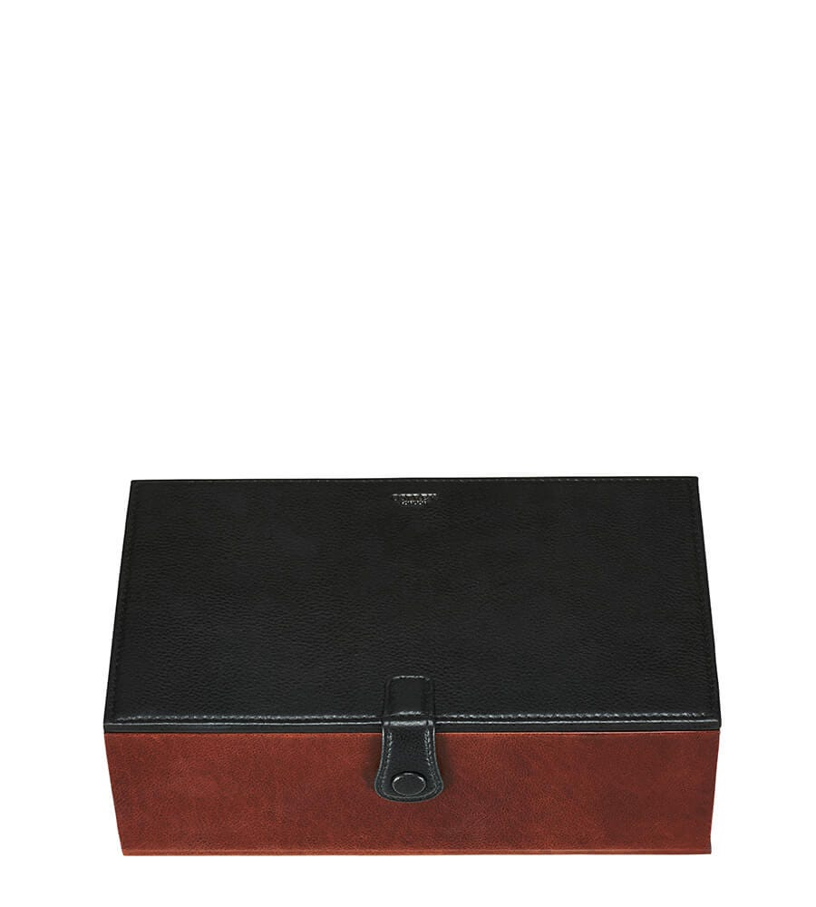 An image of The Vice Dual Leather Humidor