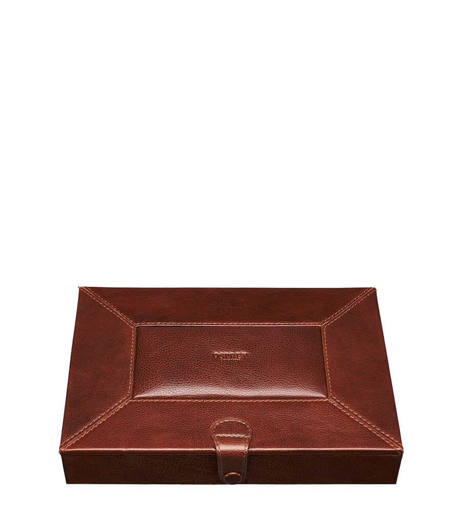 An image of The Vice Leather Humidor