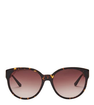 Beach Sunglasses in chocolate tortoiseshell  | OSPREY LONDON