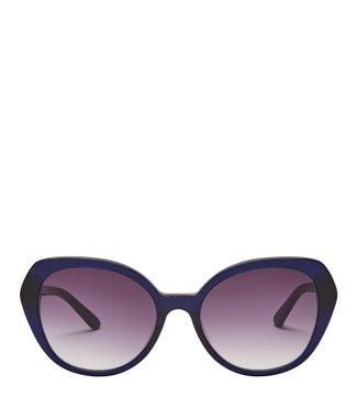 Castaway Sunglasses in navy blue | OSPREY LONDON