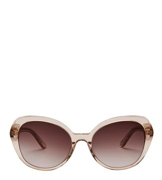 Castaway Sunglasses in gold | OSPREY LONDON