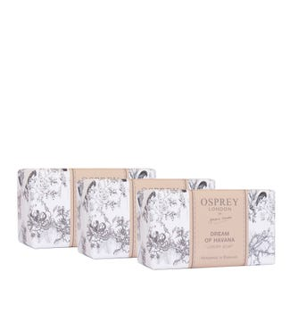 Dream of Havana Fragranced Soap Set of Three | OSPREY LONDON