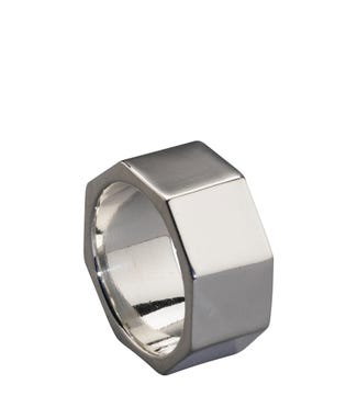 The Engineer Sterling Silver Ring | OSPREY LONDON