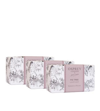 Fig Tree Fragranced Soap Set of Three | OSPREY LONDON