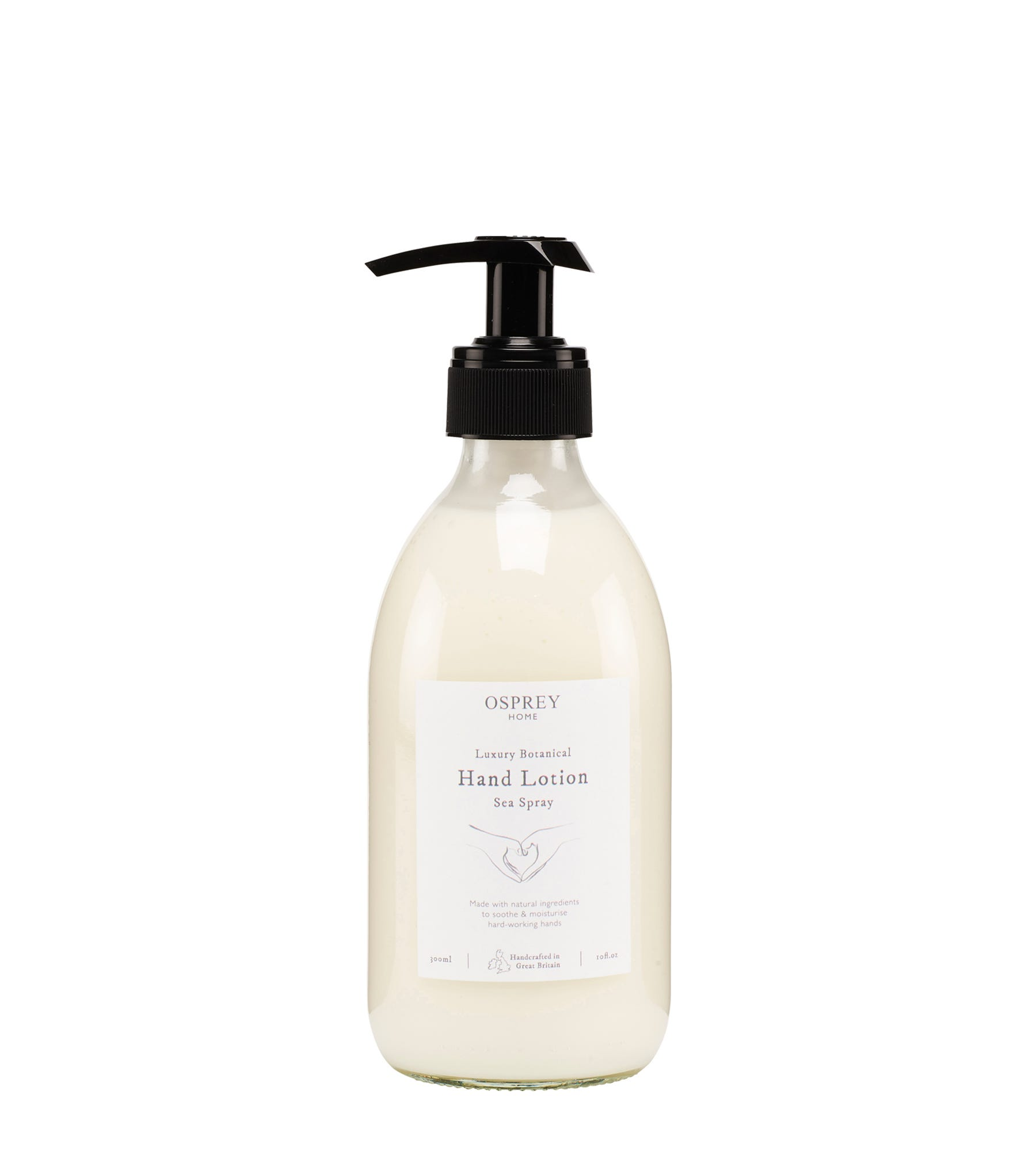 An image of Luxury Botanical Hand Lotion 300ml Glass