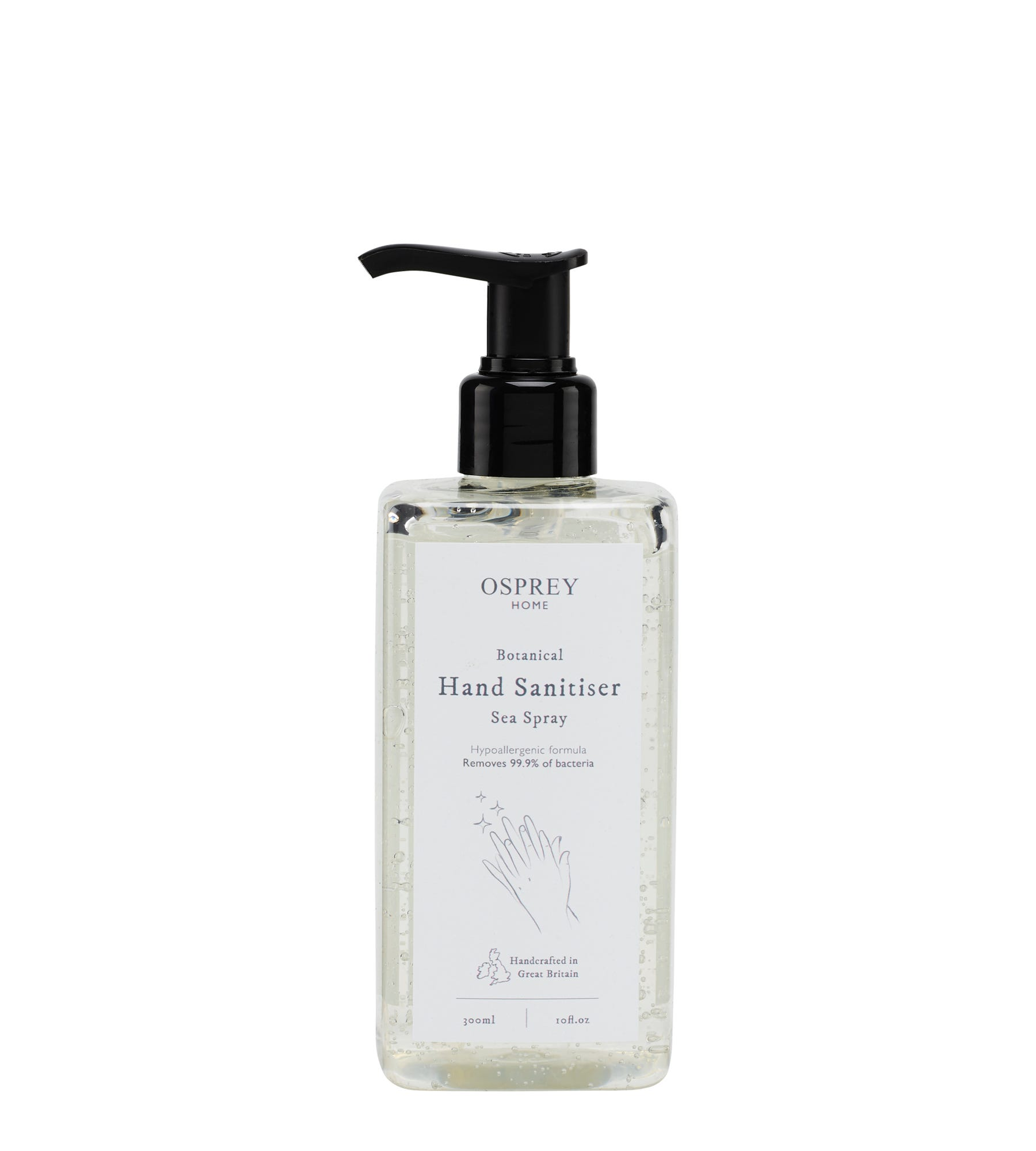 An image of Botanical Hand Sanitiser 300ml PET
