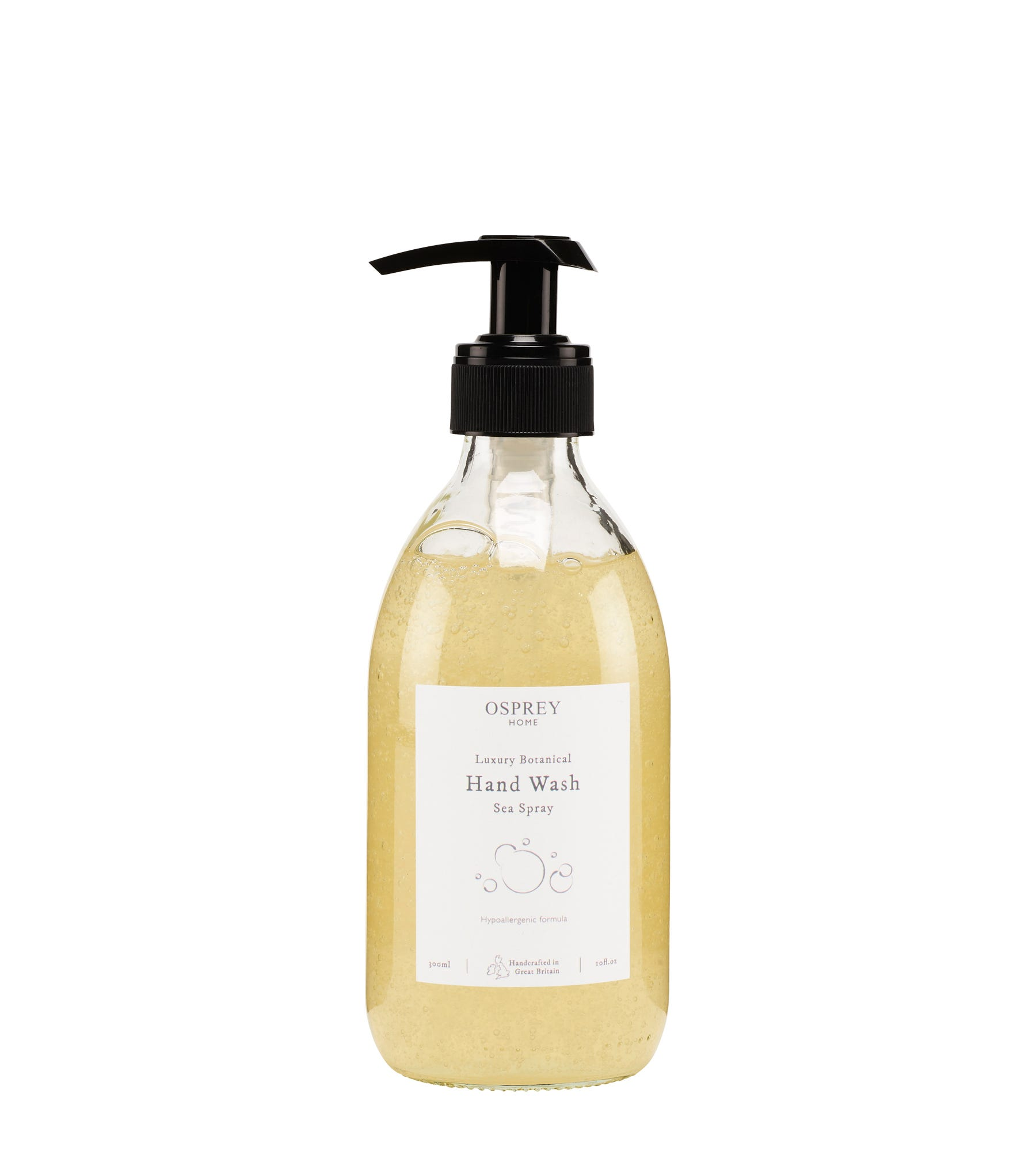 An image of Luxury Botanical Hand Wash 300ml Glass