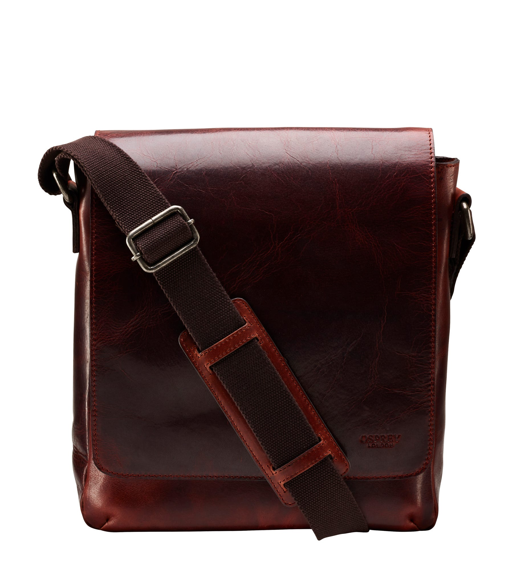 An image of The Large Baker Leather Messenger