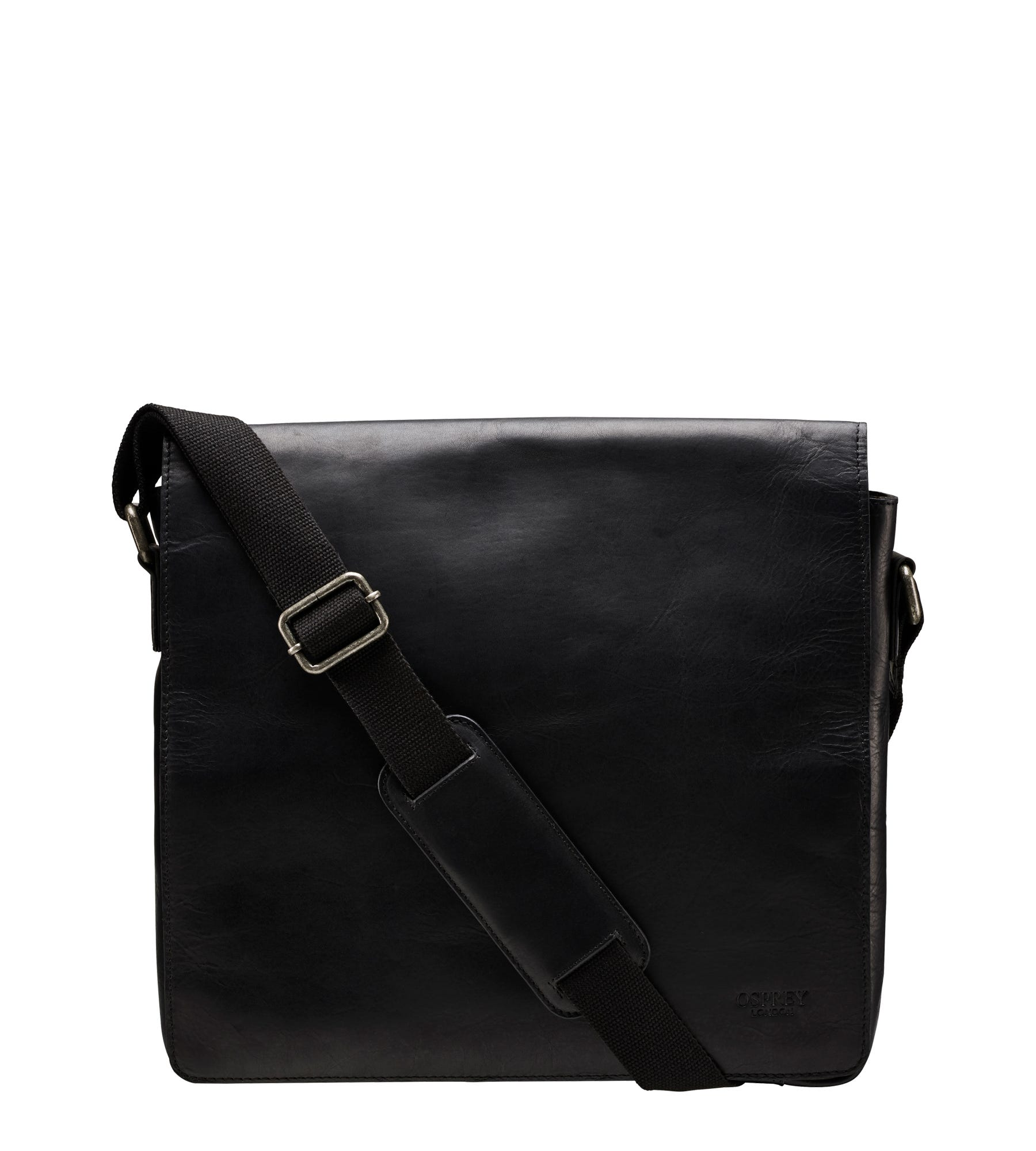 An image of The Large Smithy Leather Messenger