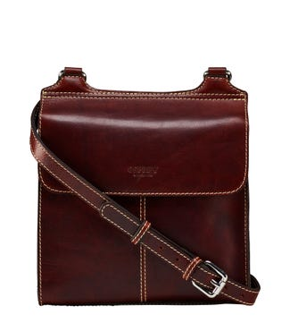 The Narissa Leather Cross-Body