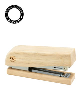 Natural Wooden Stapler | OSPREY LONDON