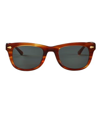 Overland Sunglasses in tan flame | OSPREY LONDON