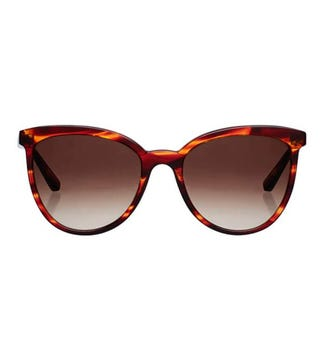 Paradise Sunglasses in tan flame tortoiseshell | OSPREY LONDON