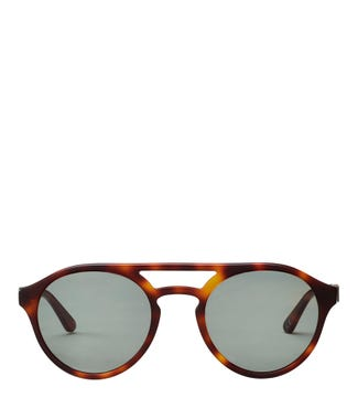Pathfinder Sunglasses in chocolate tortoiseshell | OSPREY LONDON