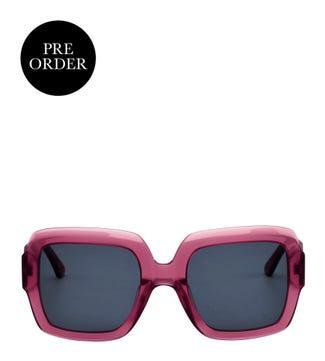 Prism Sunglasses in purple   OSPREY LONDON