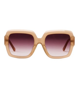Prism Sunglasses in beige| OSPREY LONDON