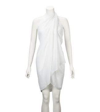 The Rainbow Cotton 3-in-1 Wrap in white