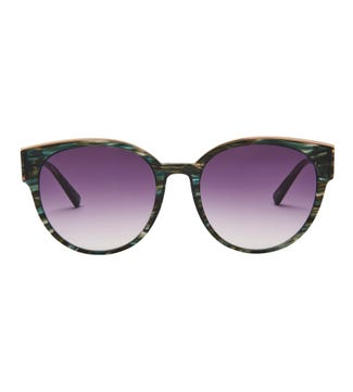 Reef Sunglasses in green | OSPREY LONDON