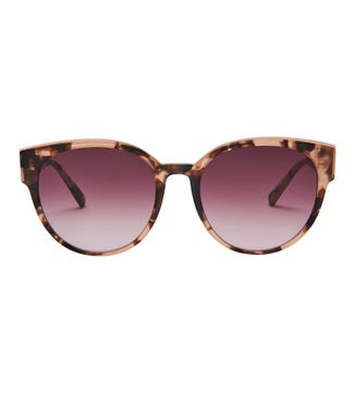 Reef Sunglasses in pink tortoiseshell | OSPREY LONDON