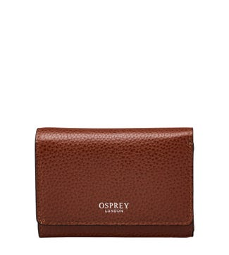 The Rita Leather Matinee Purse in tan | OSPREY LONDON